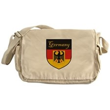 Germany Flag Crest Shield Messenger Bag