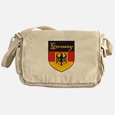 Germany Flag Crest Shield Messenger Bag