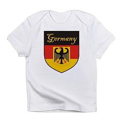 Germany Flag Crest Shield Infant T-Shirt