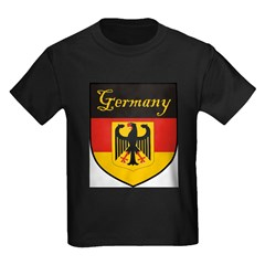 Germany Flag Crest Shield T