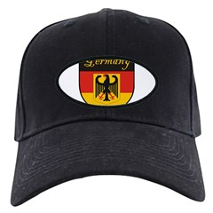 Germany Flag Crest Shield Baseball Hat