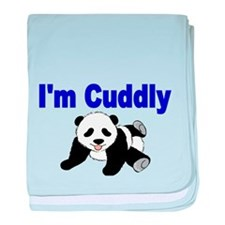 IM CUDDLY with panda bear baby blanket