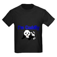 IM CUDDLY with panda bear T-Shirt