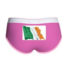 Irish Flag / Ireland Flag Women's Boy Brief