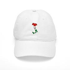 Italy-Map-Decal.jpg Baseball Cap