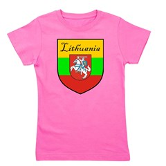 Lithuania-transp.png Girl's Tee