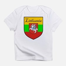 Lithuania-transp.png Infant T-Shirt