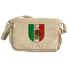mexicoshield.png Messenger Bag