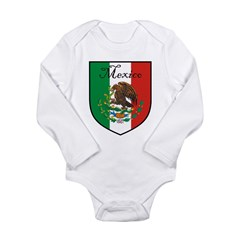 mexicoshield.png Long Sleeve Infant Bodysuit