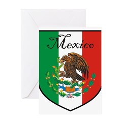 mexicoshield.png Greeting Card