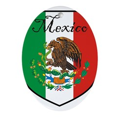 mexicoshield.png Ornament (Oval)