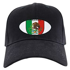 mexicoshield.png Baseball Hat