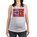 NORWAY-straight.jpg Maternity Tank Top