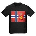 NORWAY-straight.jpg Kids Dark T-Shirt