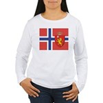 NORWAY-straight.jpg Women's Long Sleeve T-Shirt