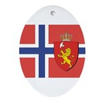 NORWAY-straight.jpg Ornament (Oval)