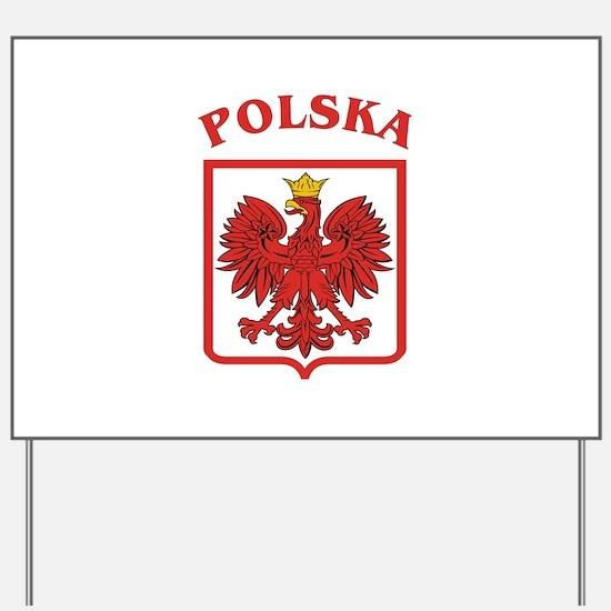 Polskaeagleshield.jpg Yard Sign