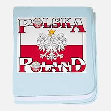 polska-poland.png baby blanket