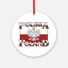 polska-poland.png Ornament (Round)