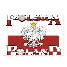 polska-poland.png Postcards (Package of 8)