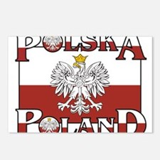polska-poland.png Postcards (Package of 8)