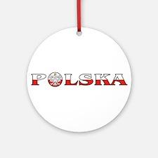 polska.jpg Ornament (Round)