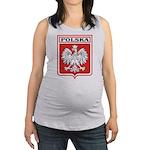 polska-dark.png Maternity Tank Top