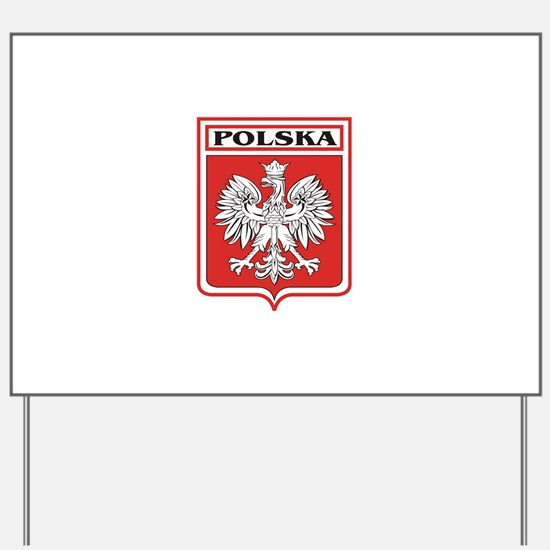 polska-dark.png Yard Sign