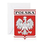 polska-dark.png Greeting Cards (Pk of 20)