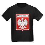 polska-dark.png Kids Dark T-Shirt