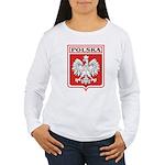 polska-dark.png Women's Long Sleeve T-Shirt