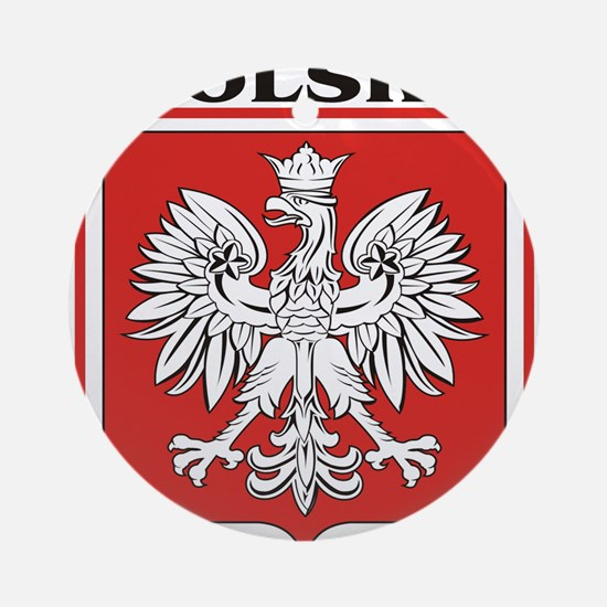 polska-dark.png Ornament (Round)