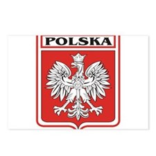 polska-dark.png Postcards (Package of 8)