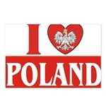 lovePOLAND.jpg Postcards (Package of 8)
