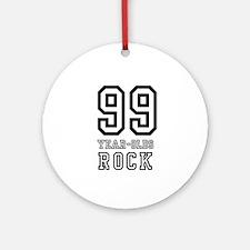 99  Ornament (Round)