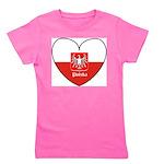polska-heart2.jpg Girl's Tee