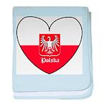 polska-heart2.jpg baby blanket