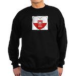 polska-heart2.jpg Sweatshirt (dark)