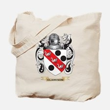 Clarkson 2 Coat of Arms Tote Bag
