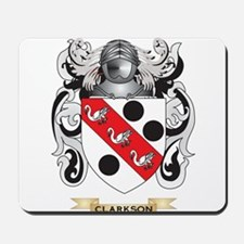 Clarkson 2 Coat of Arms Mousepad