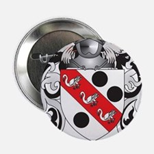 """Clarkson 2 Coat of Arms 2.25"""" Button"""
