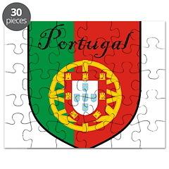Portugal Flag Crest Shield Puzzle