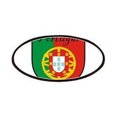 Portugal Flag Crest Shield Patches