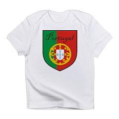 Portugal Flag Crest Shield Infant T-Shirt