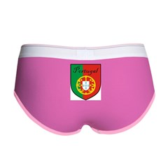 Portugal Flag Crest Shield Women's Boy Brief