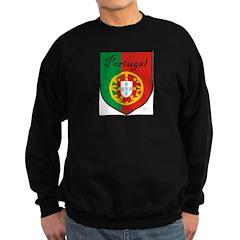 Portugal Flag Crest Shield Sweatshirt