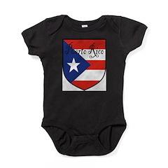 PuertoRico-Shield.jpg Baby Bodysuit