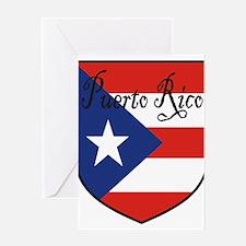 PuertoRico-Shield.jpg Greeting Card