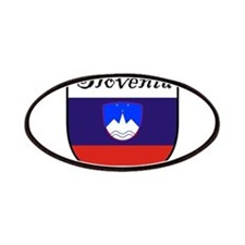 Slovenia Flag Crest Shield Patches