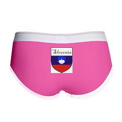 Slovenia Flag Crest Shield Women's Boy Brief